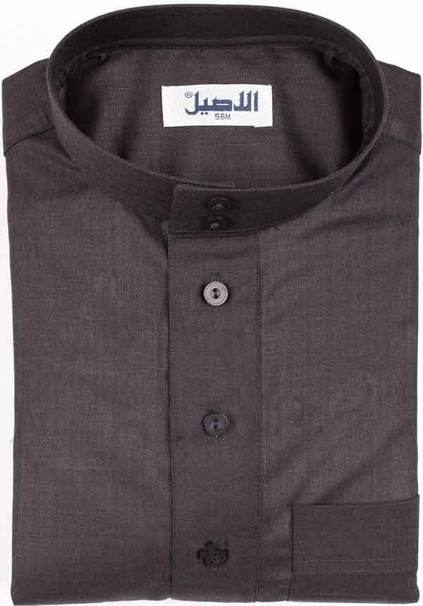 Al aseel New Dark Gray Winter Jubbah