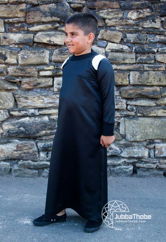Black Arm Patch Children Jubba