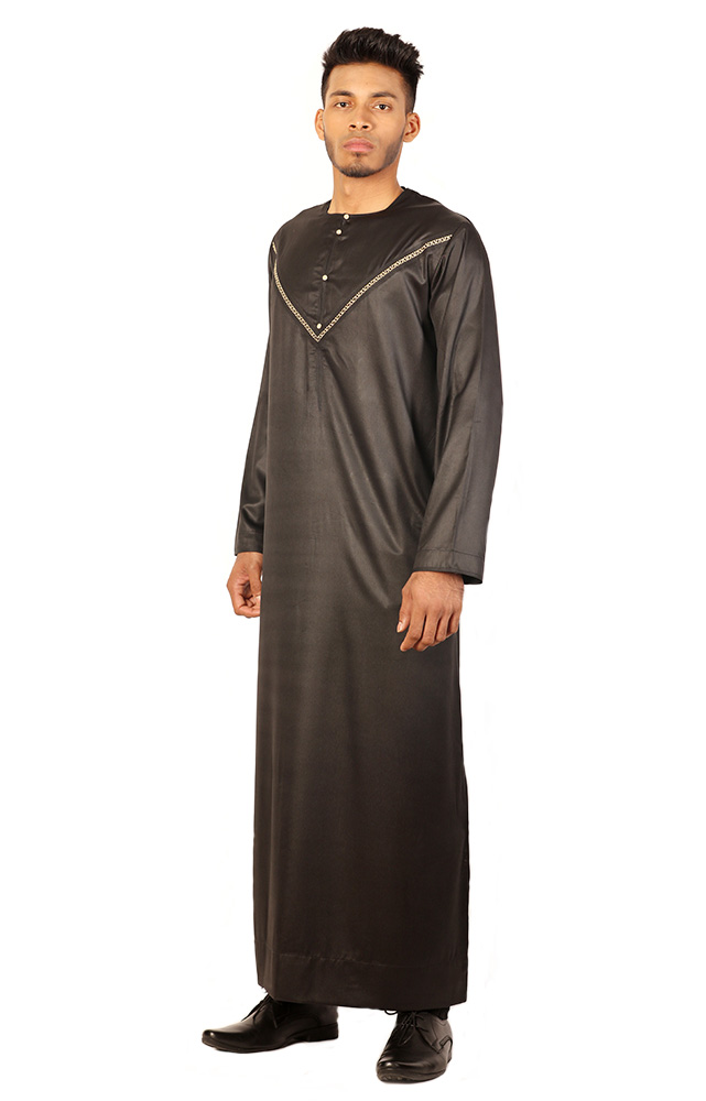 Black Gold Soft Jubba
