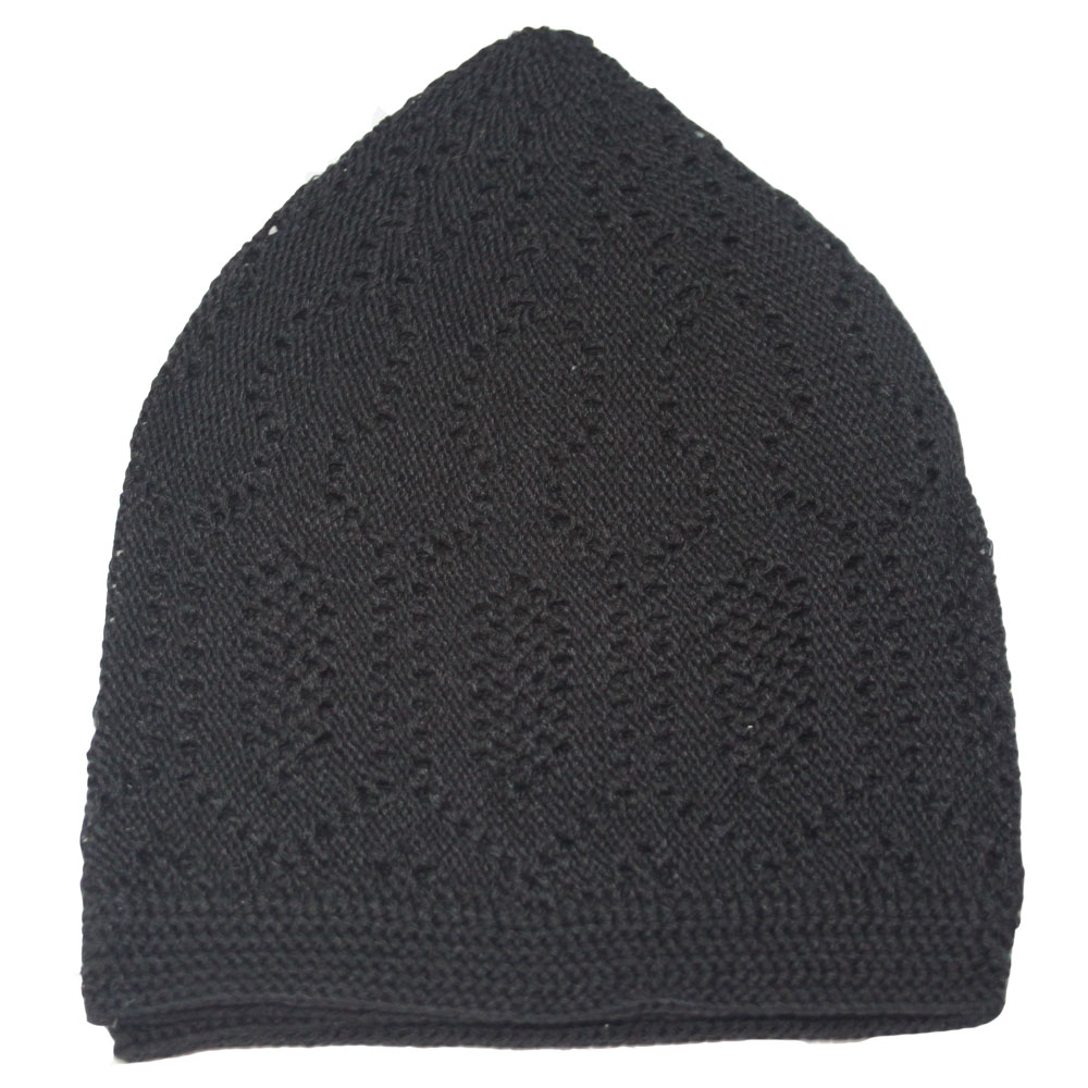 Black Merccan Prayer Hat