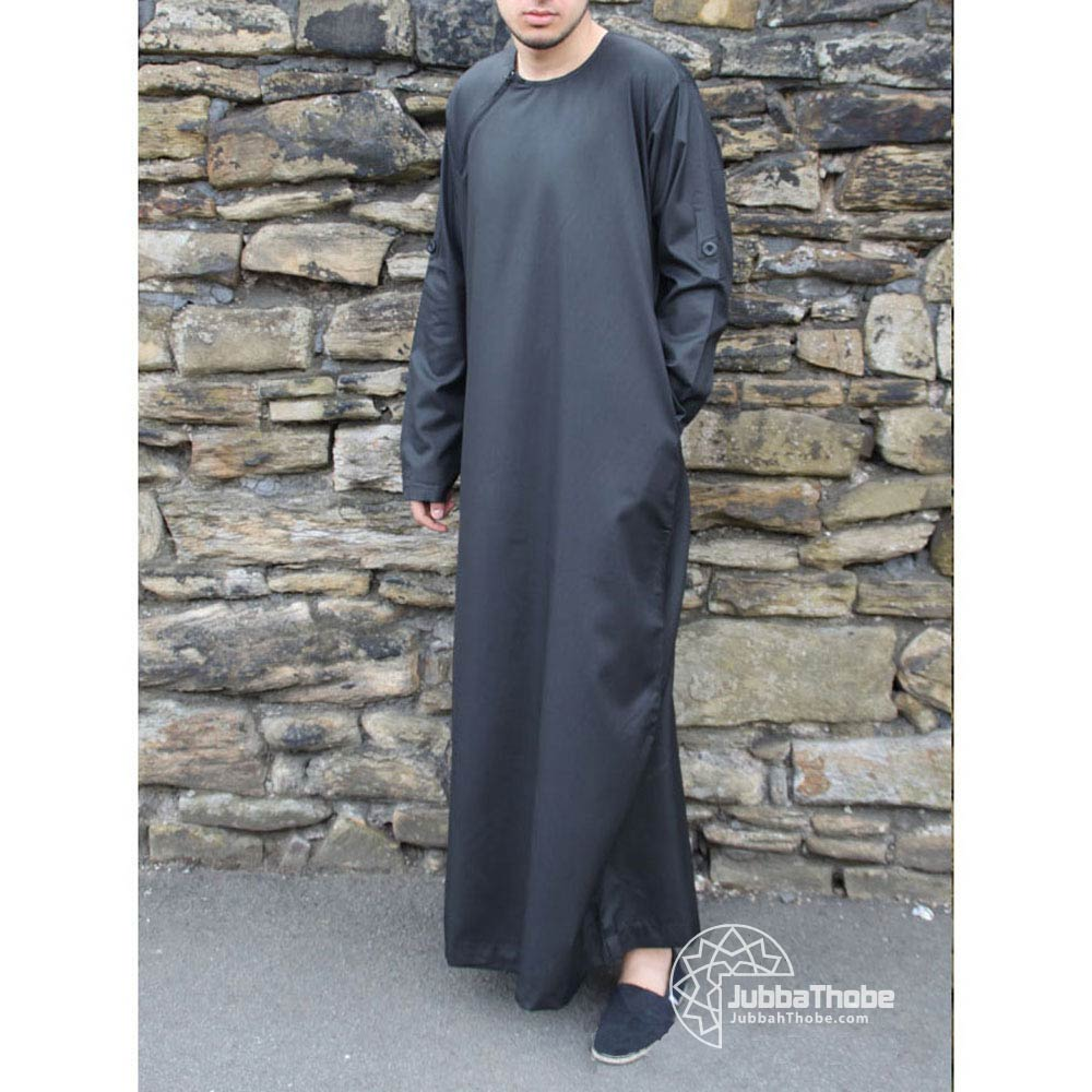 Black Roll Down Jubba