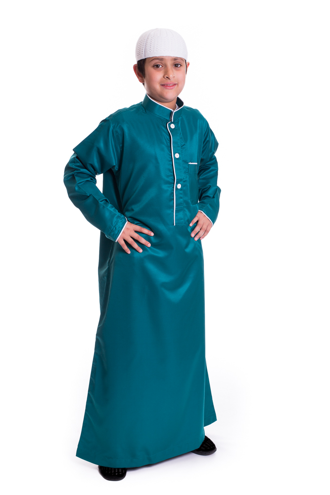 Aegean Blue Kids pipping Jubba
