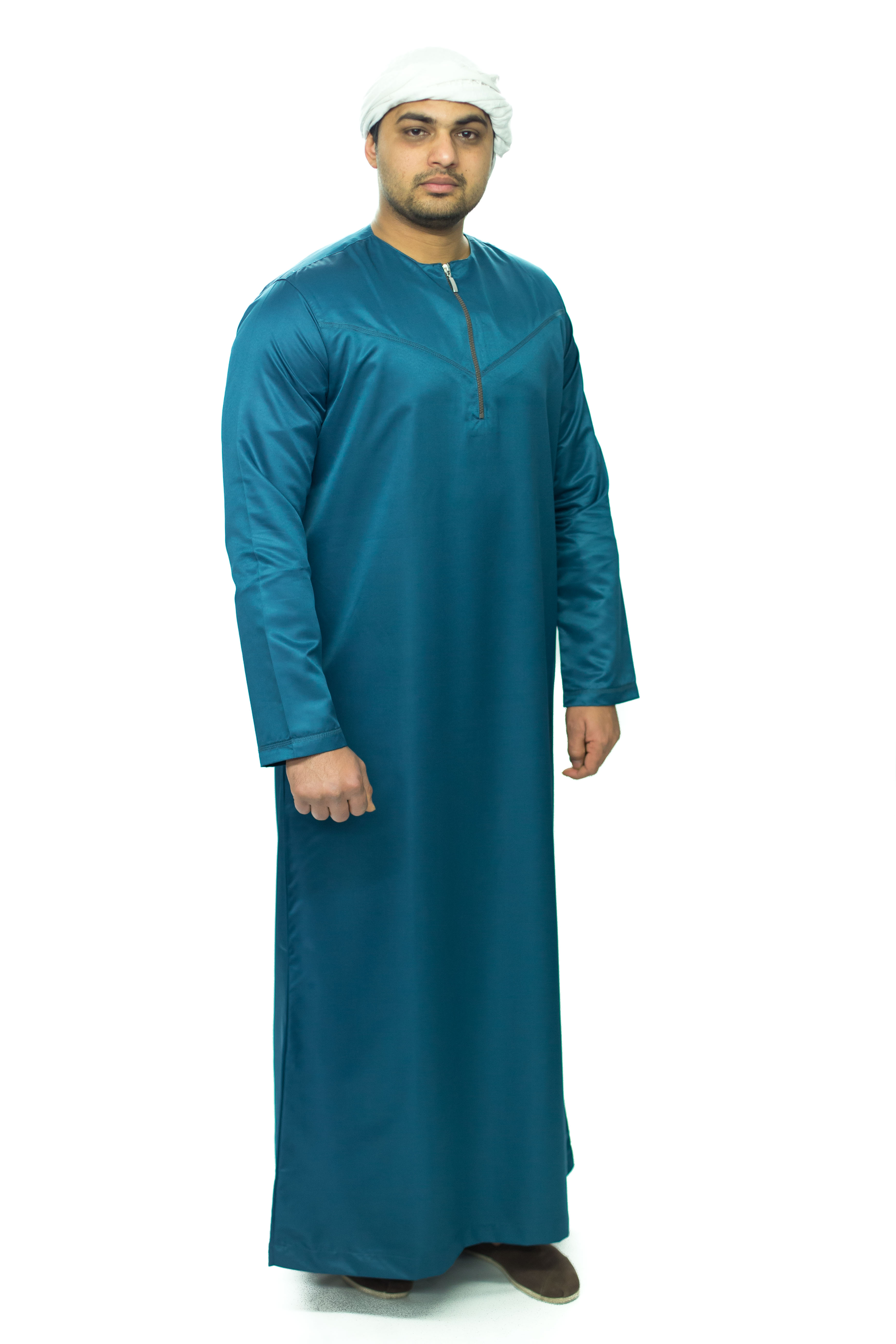 Blue New Omani Jubba
