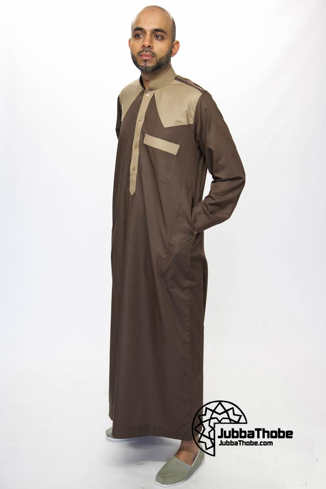Brown Juyubsh Jubba