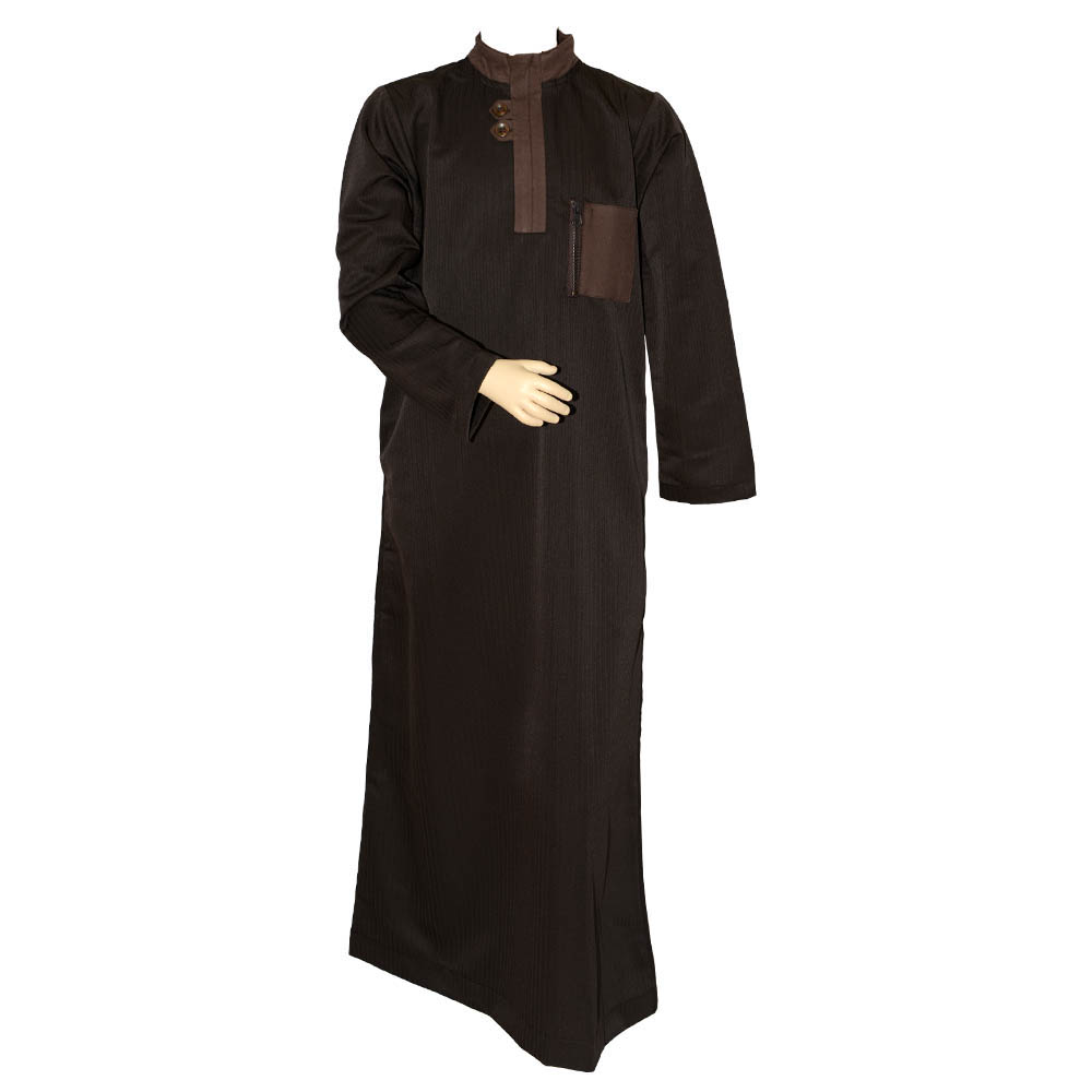 Brown Loopy Children Jubba