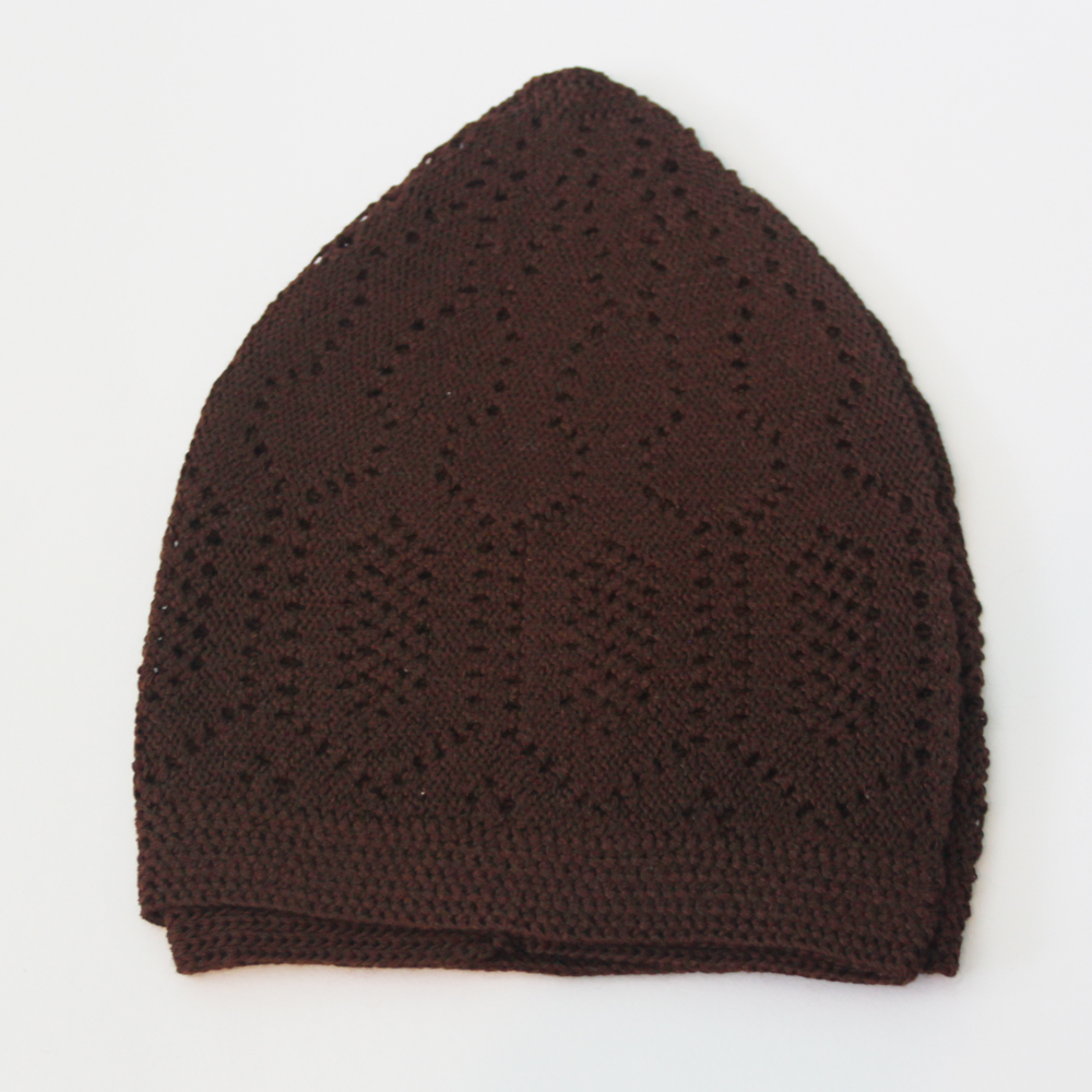 Brown Merccan Prayer Hat