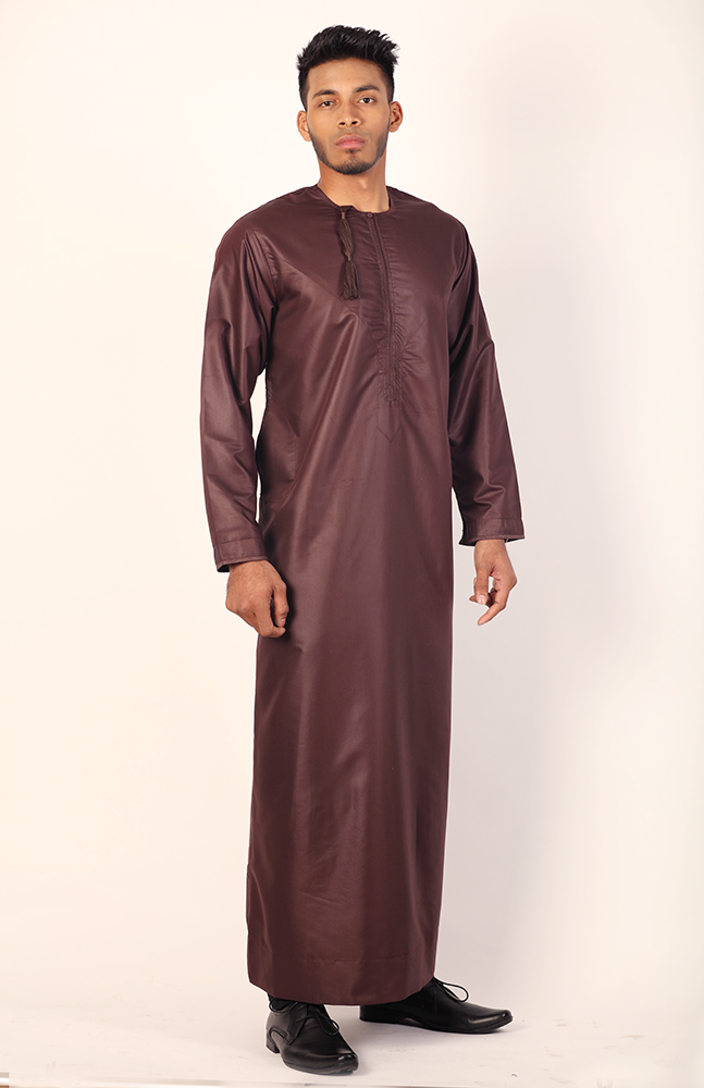 Brown Stylish Jubba