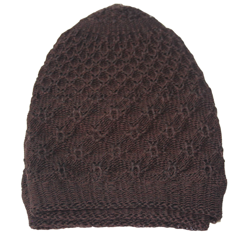 Brown Warm Prayer Hat