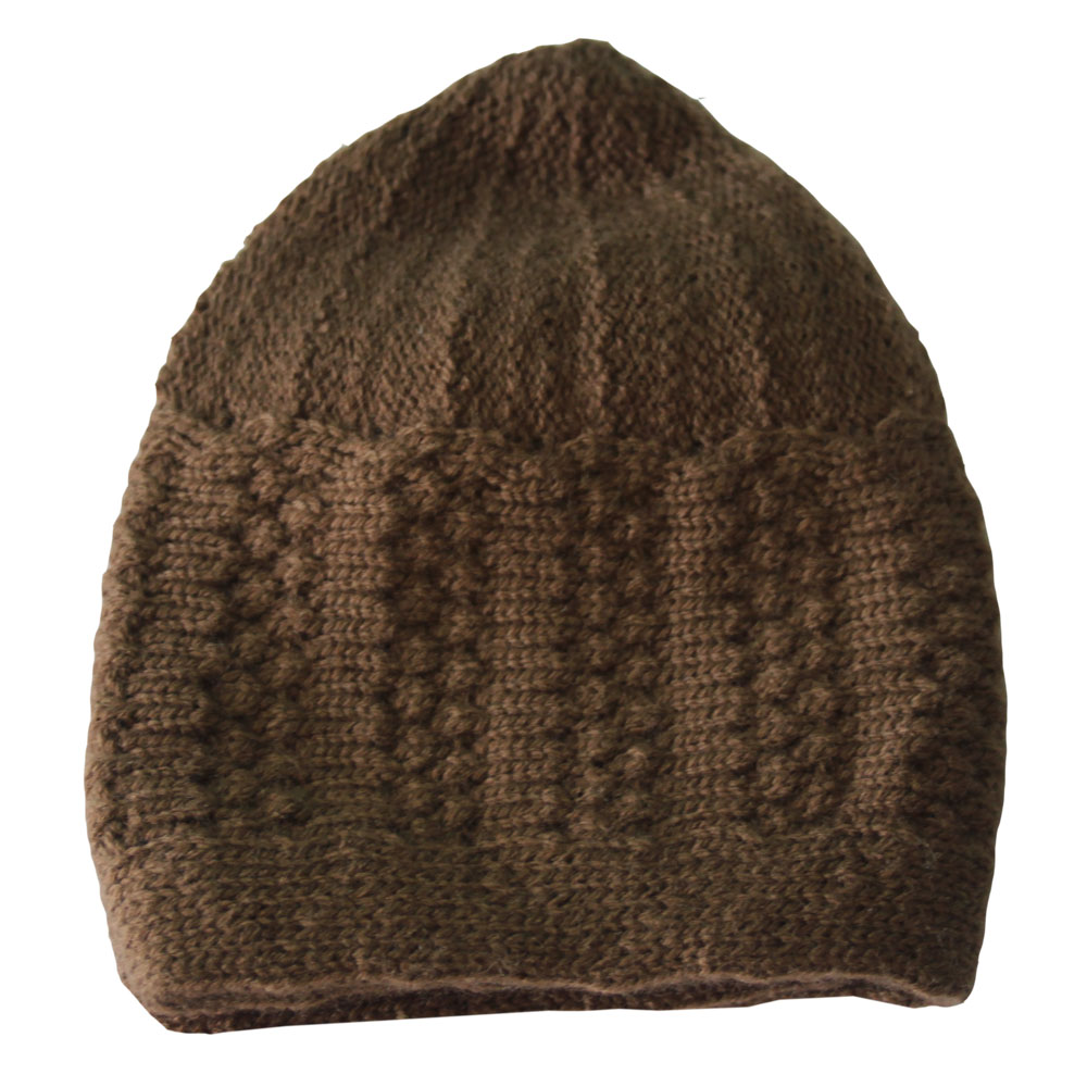 Brown Winter Prayer Cap