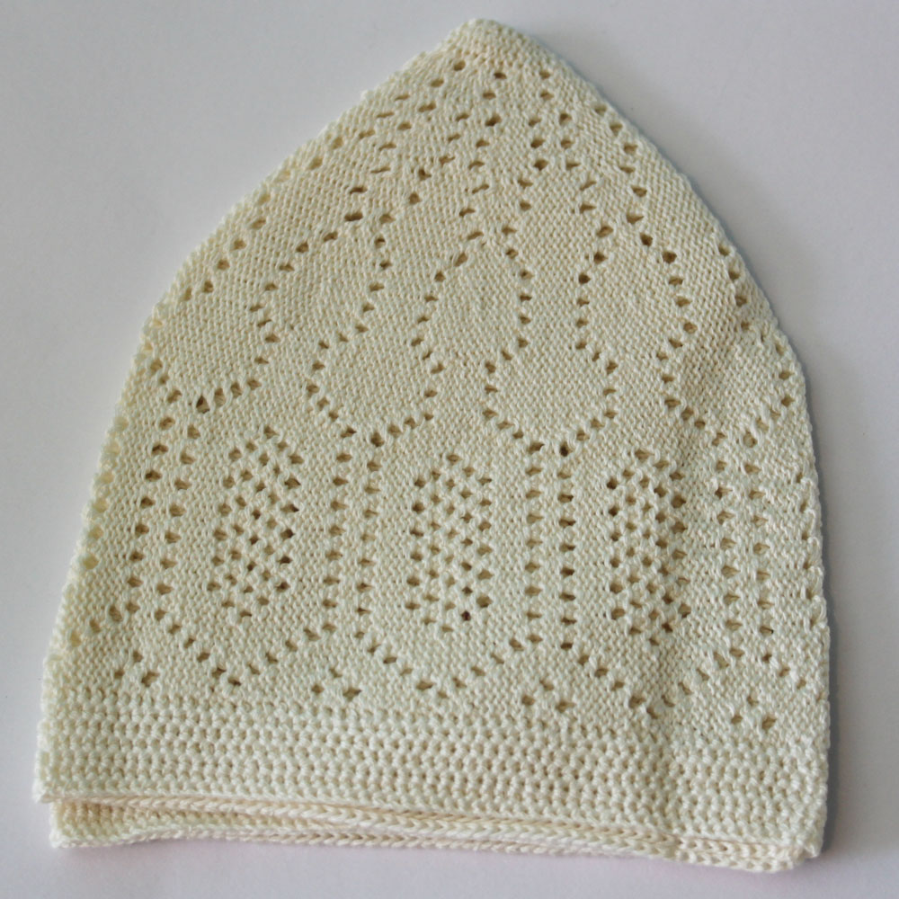 Cream Merccan Prayer Hat