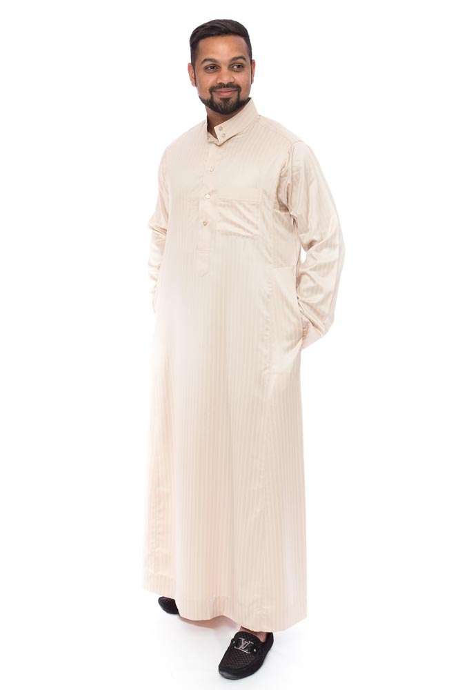 Gold line Coller Arab Jubba