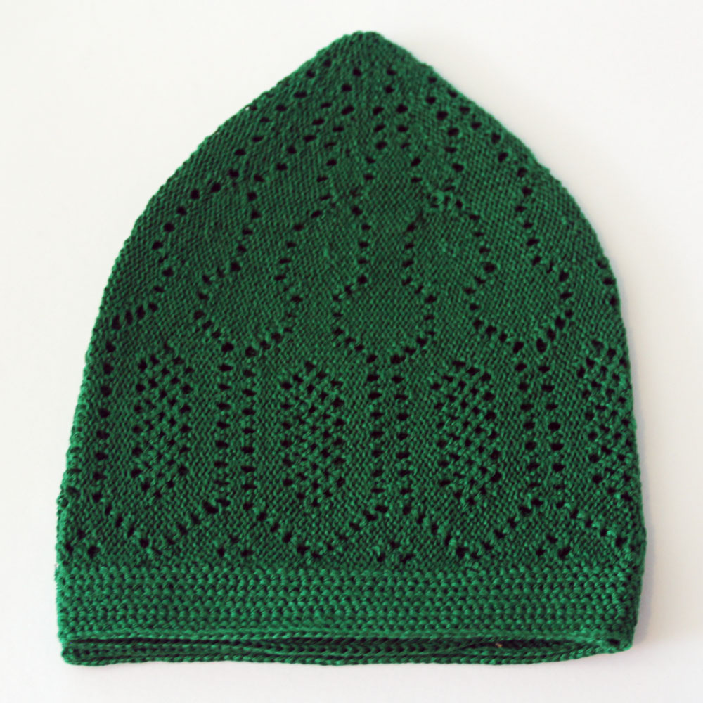 Green Merccan Prayer Hat