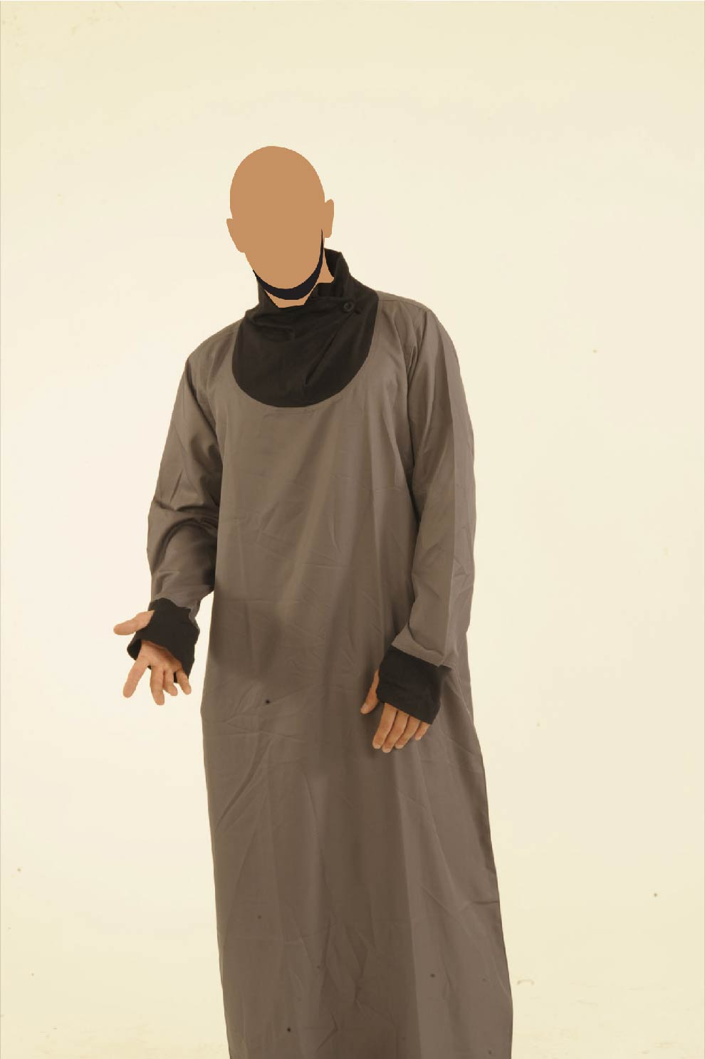 Grey And Black Navigator Jubba