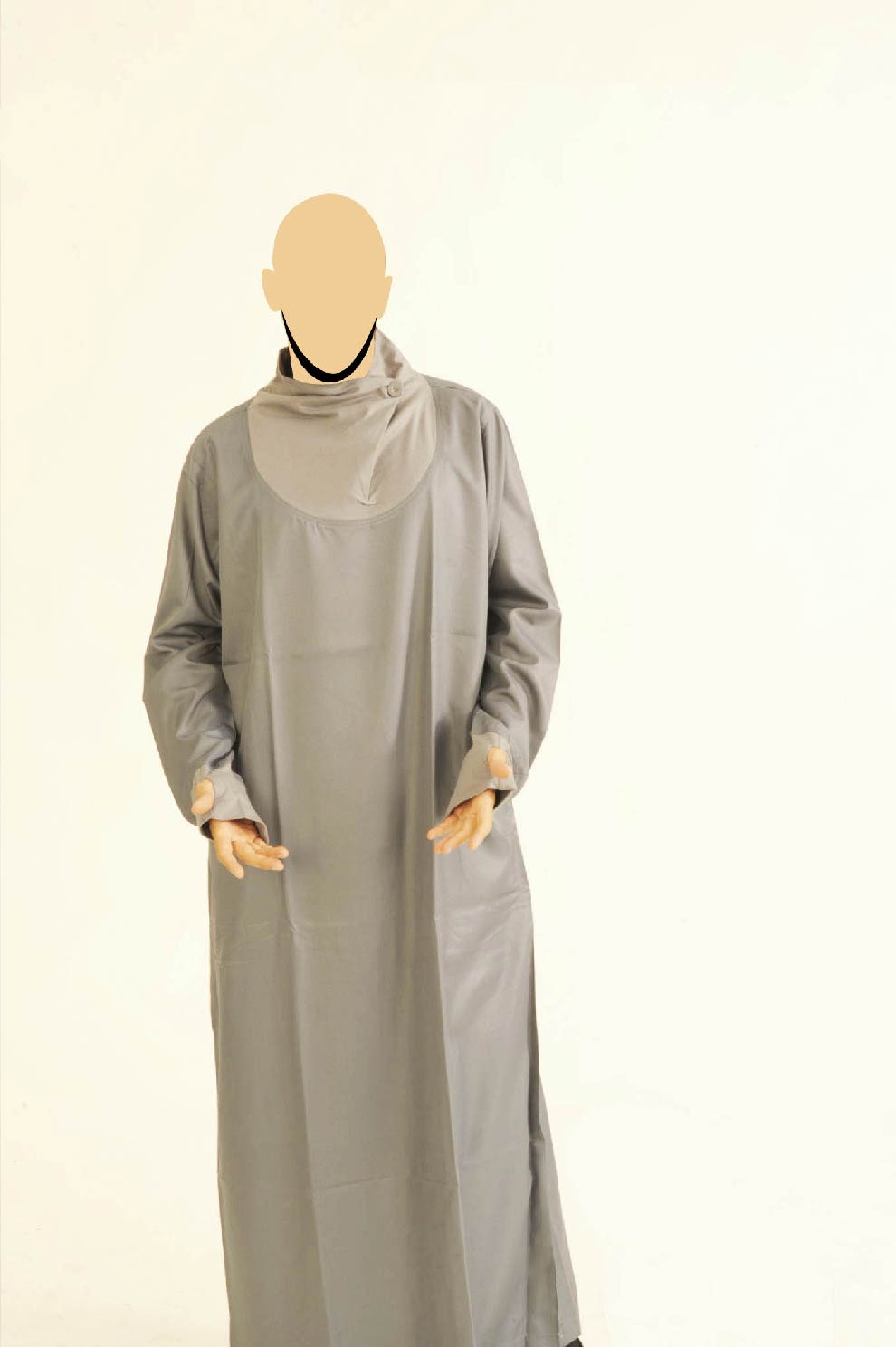 Grey & Light Blue Navigator Jubba
