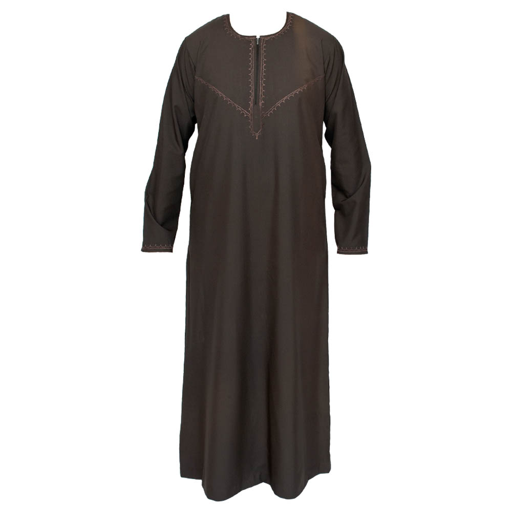 Omani Charcoal Grey Jubba