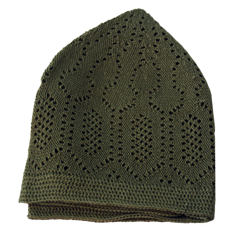 Khaki Merccan Prayer Hat