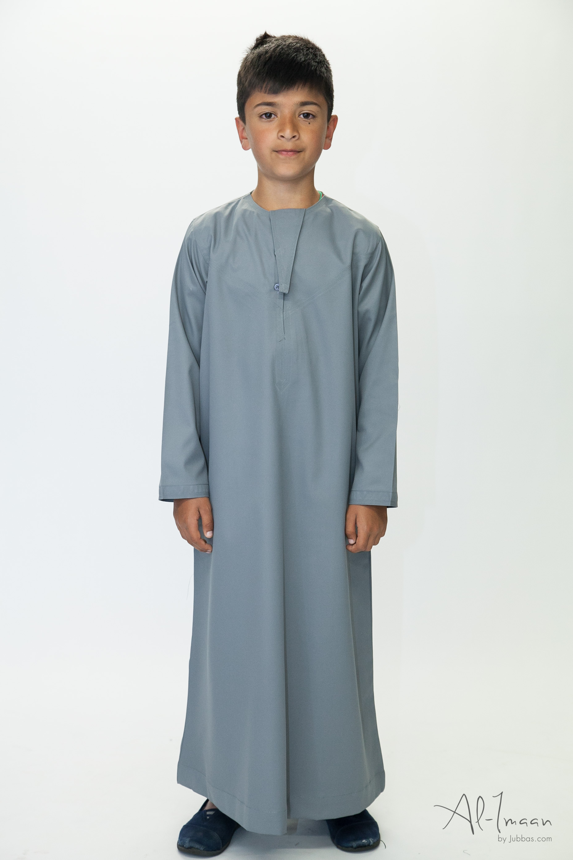 Kids Omani Grey Thobe