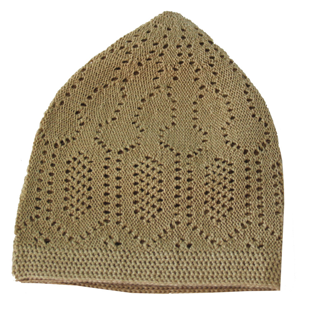 Light Beige Prayer Hat