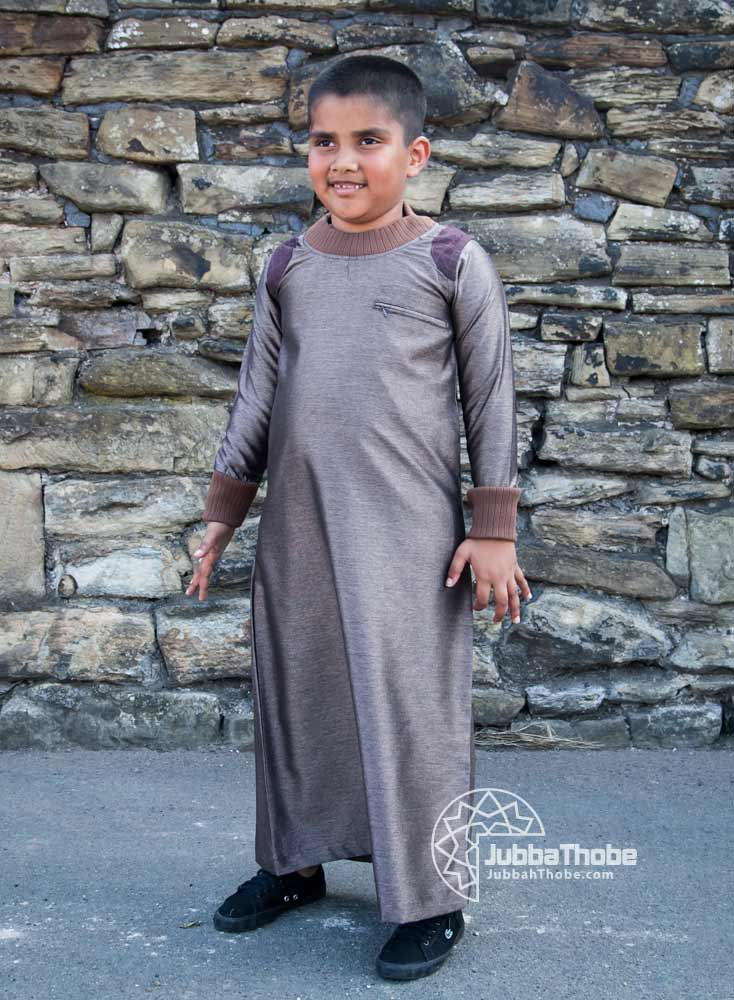 Light Brown Arm Patch Children Jubba