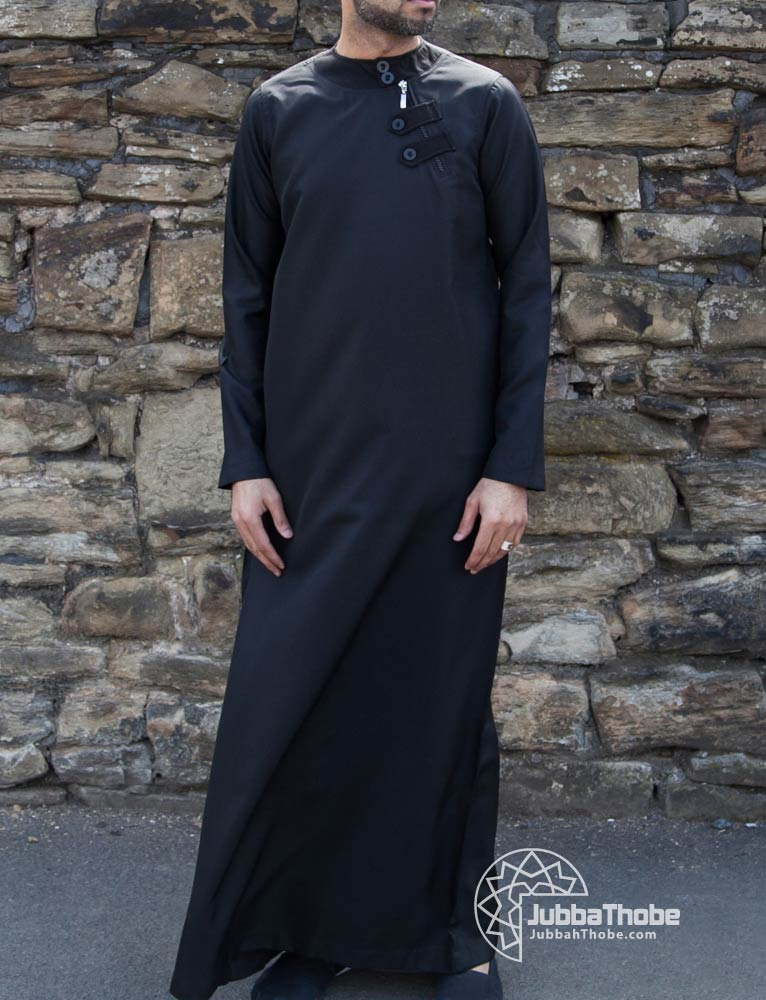 Loop Zip Black Jubba