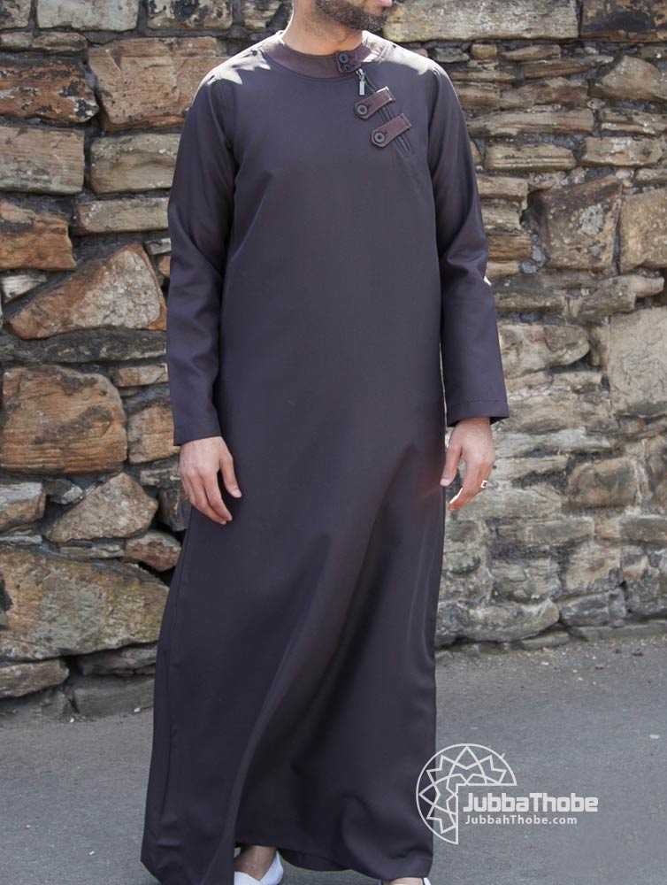 Loop Zip Brown Jubba