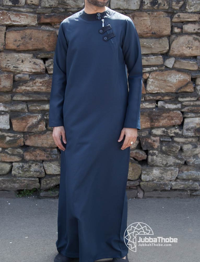 Loop Zip Navy Blue Jubba