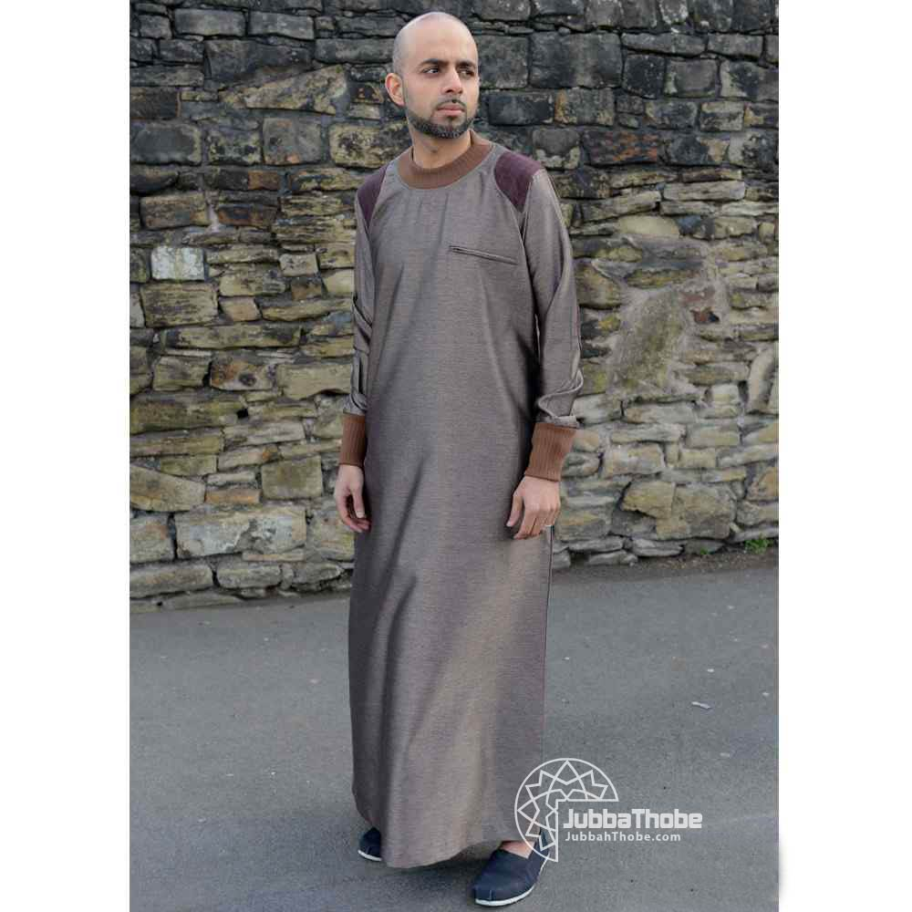 Mens Patch Bronze Brown Jubba