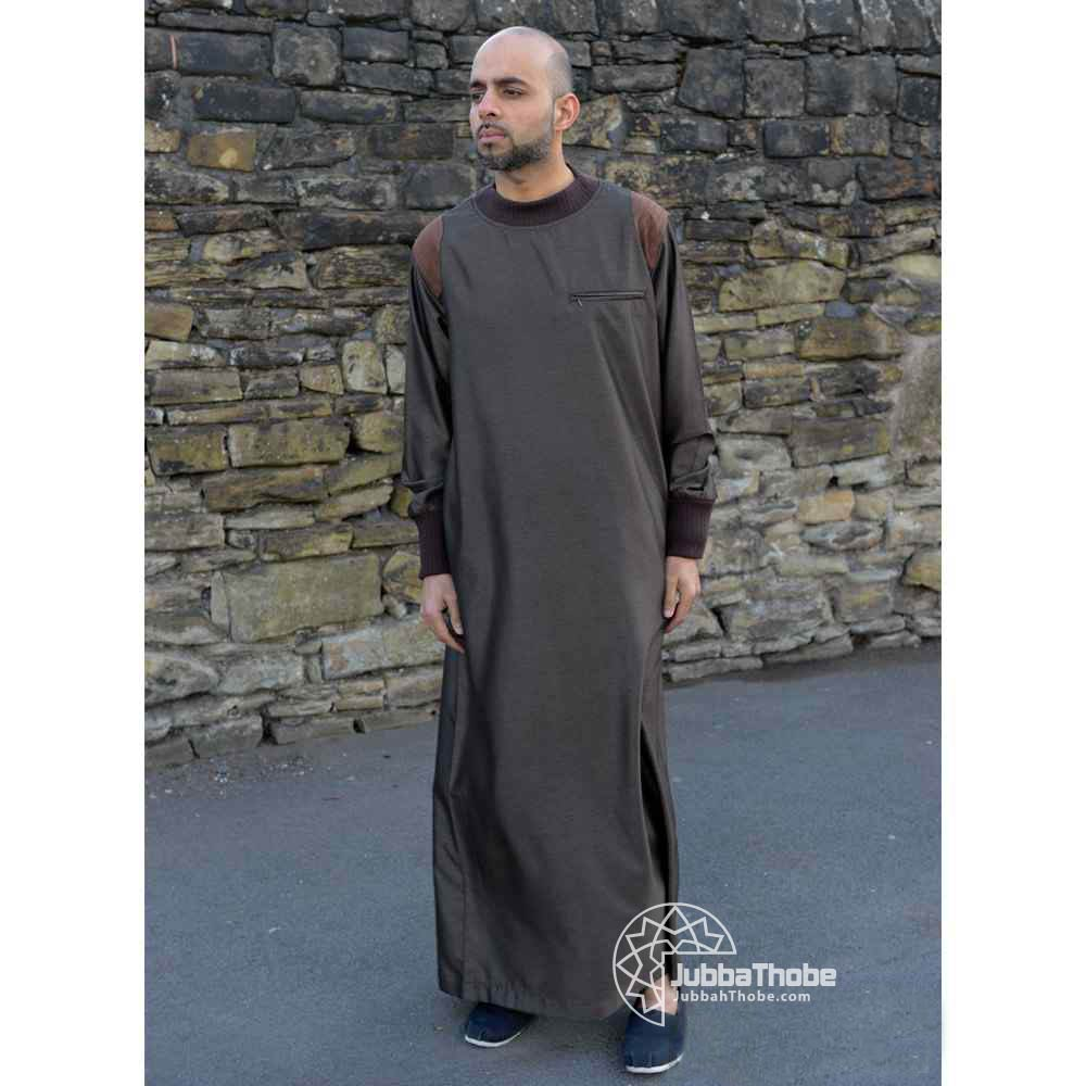Mens Patch Brown Jubba
