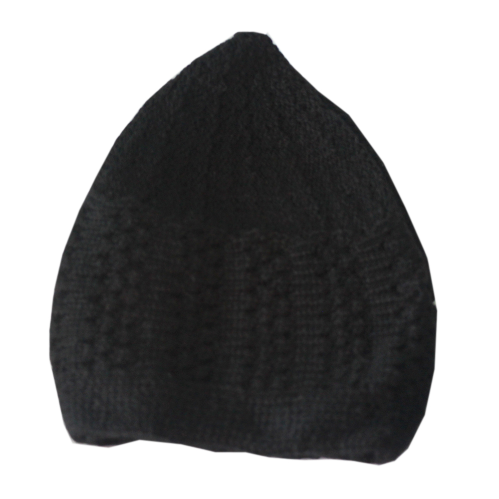 Black Winter Prayer Cap