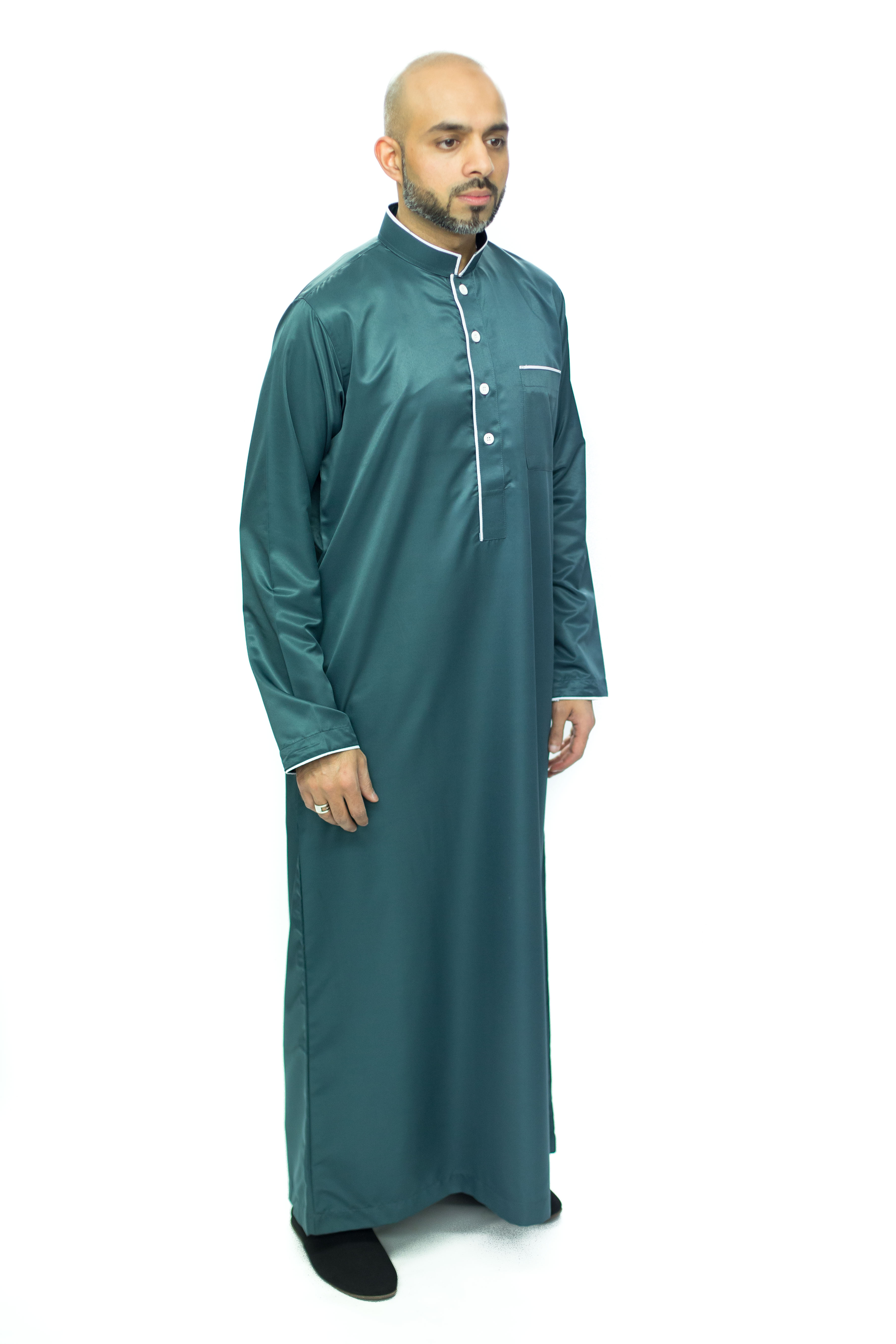 Ocean Blue New Mens Pipping Jubba