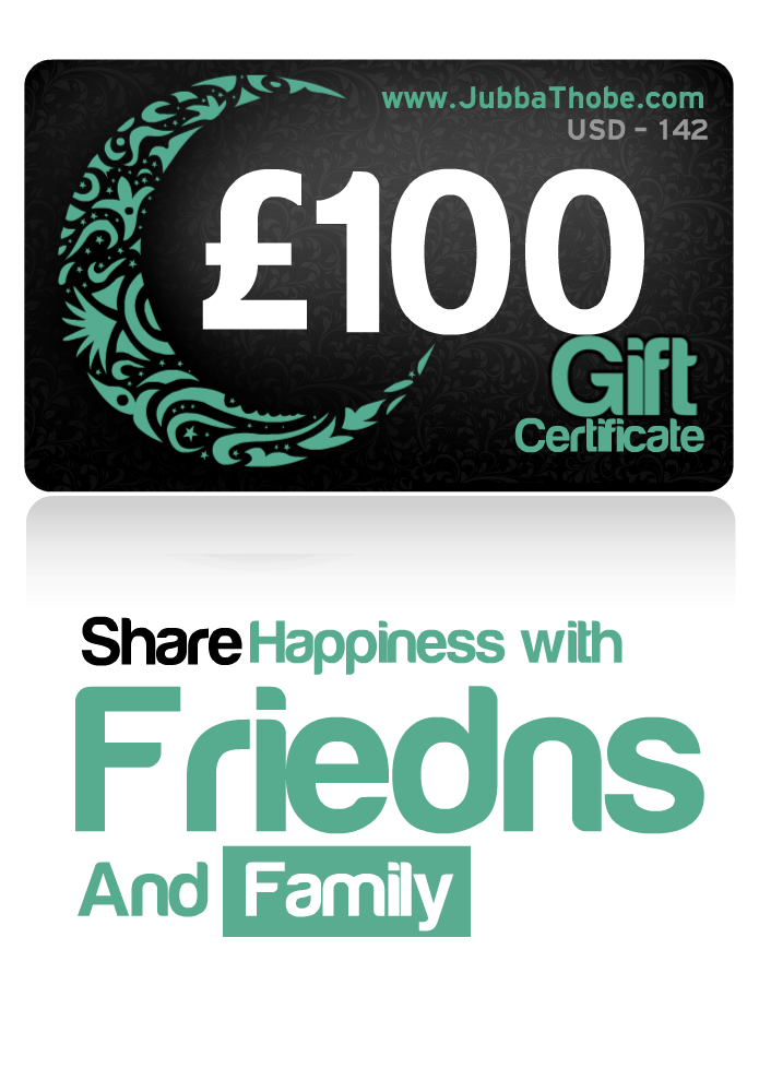 Gift Certificate  £100/ $142