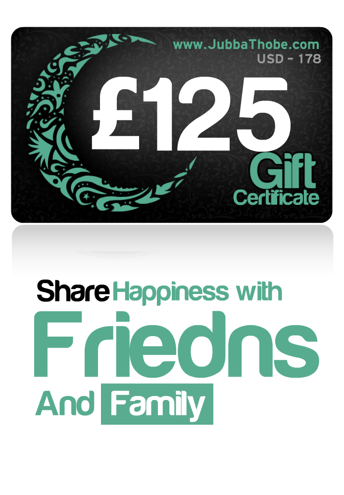 Gift Certificate  £125 / $178