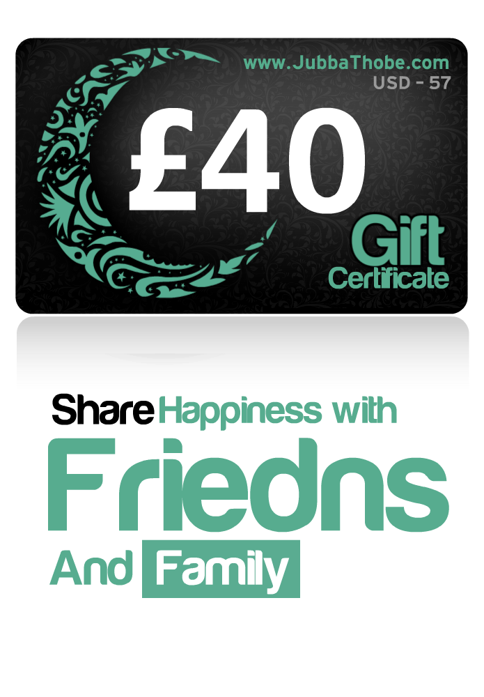Gift Certificate  £40 / $57