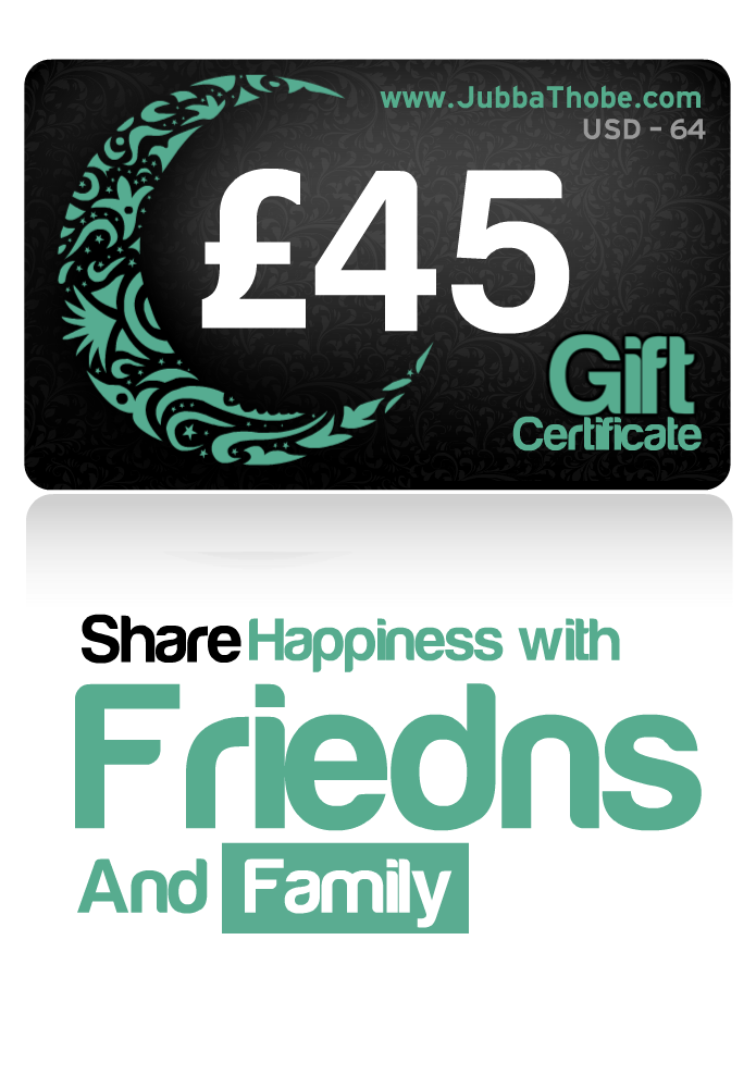 Gift Certificate  £45 / $64