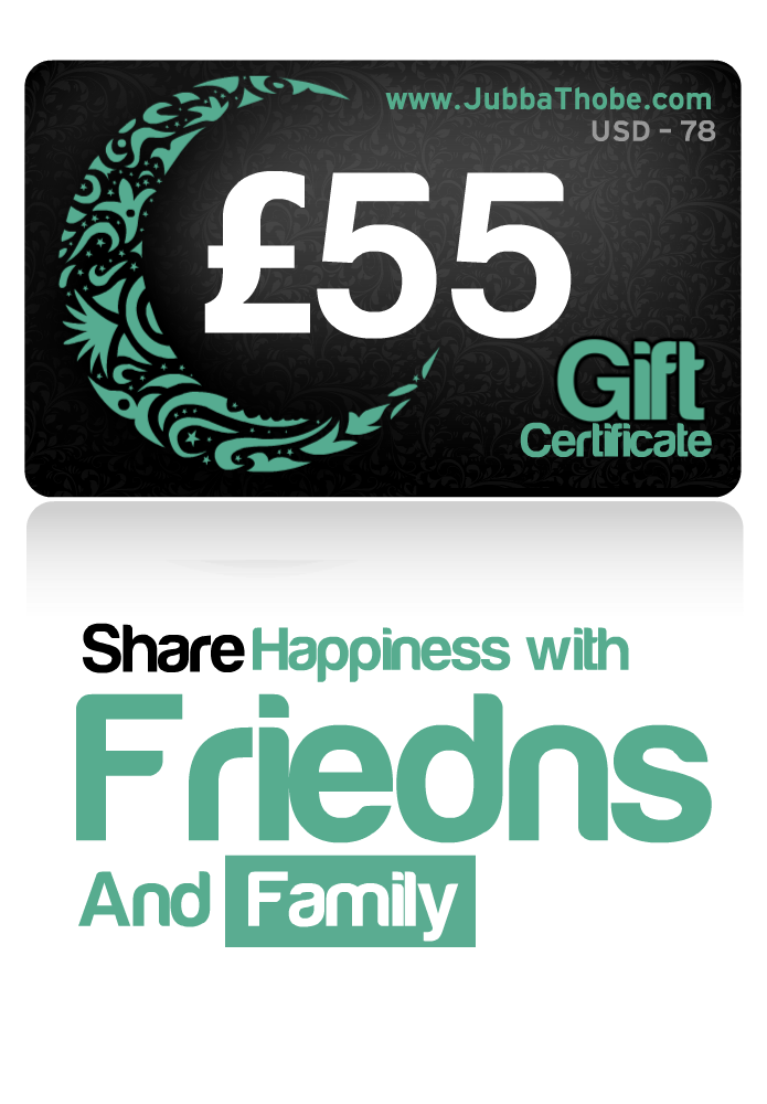 Gift Certificate  £55 / $78