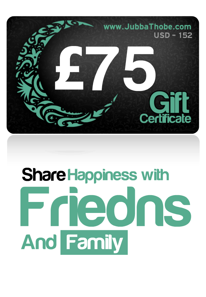 Gift Certificate  £75 / $152