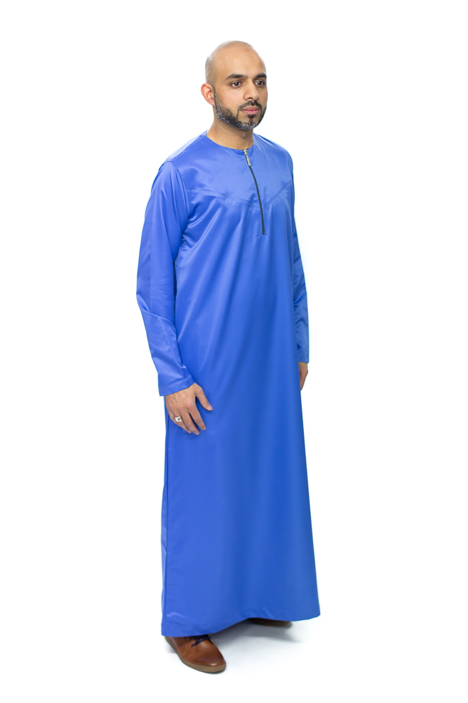 Royal Blue Omani Jubba