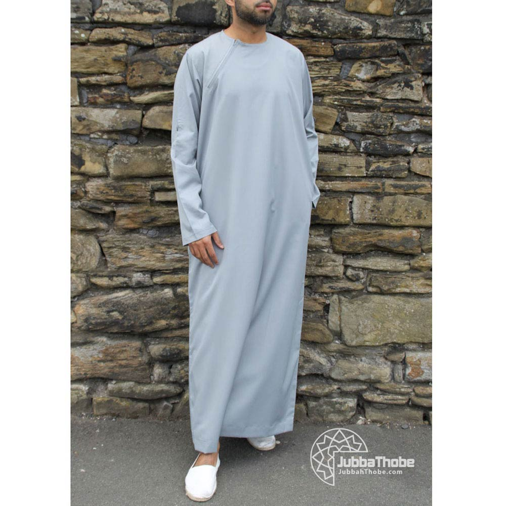 Slate Grey Roll Down Jubba
