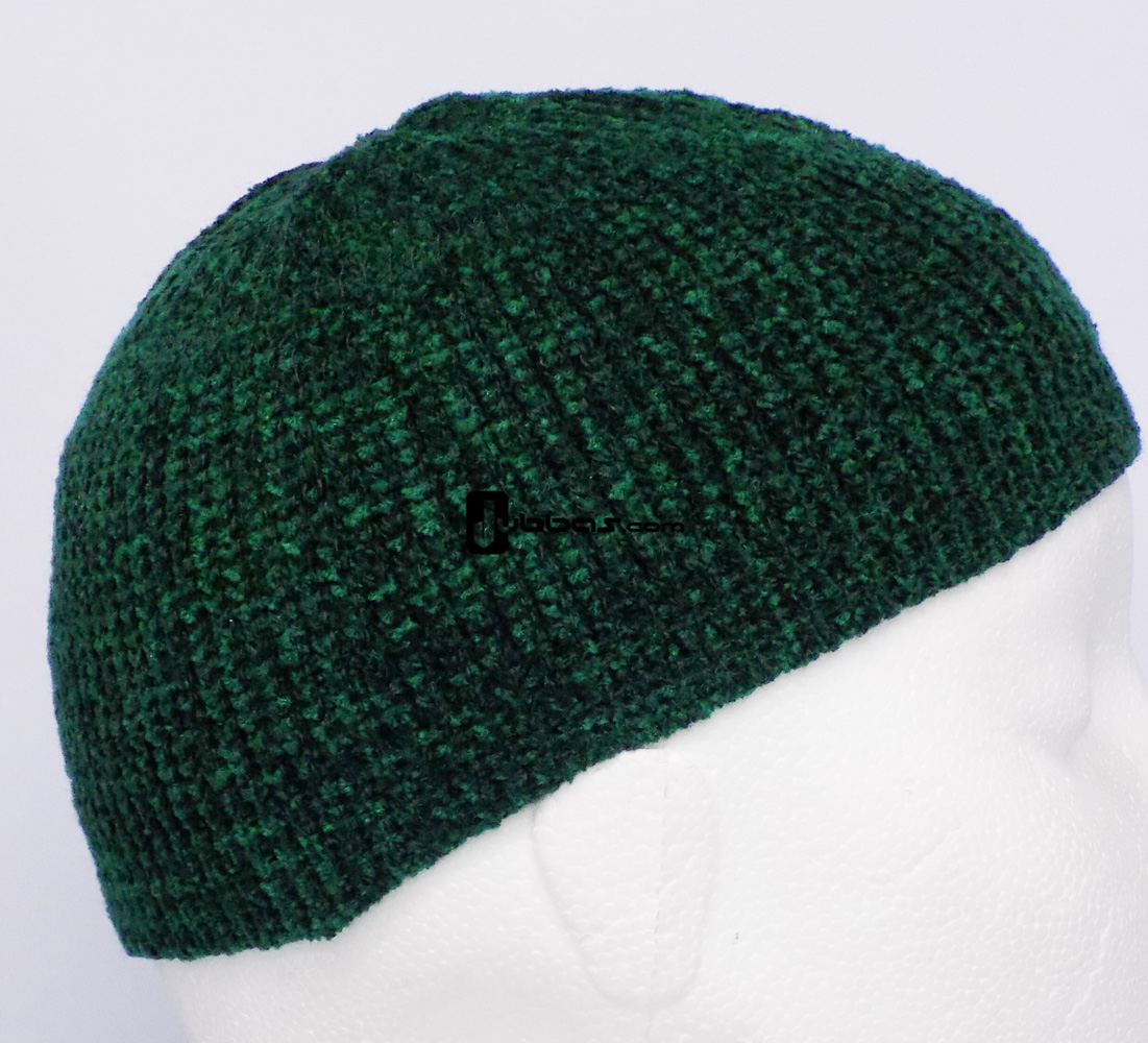 Green Soft Prayer Hat