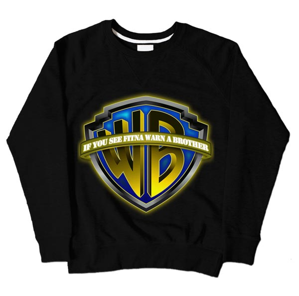Warn Brother Black Sweatshirt