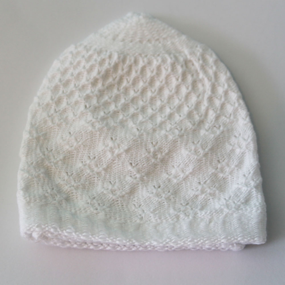 White Warm Prayer Hat